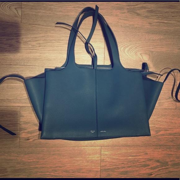 Authentic Céline Medium Tri-fold bag in calfskin ea8b7eb3d8090